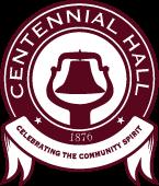 Centennial Hall Logo